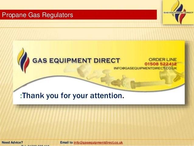 Types Of Propane Gas Regulators