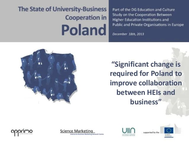 University-Business Cooperation Country Report Poland