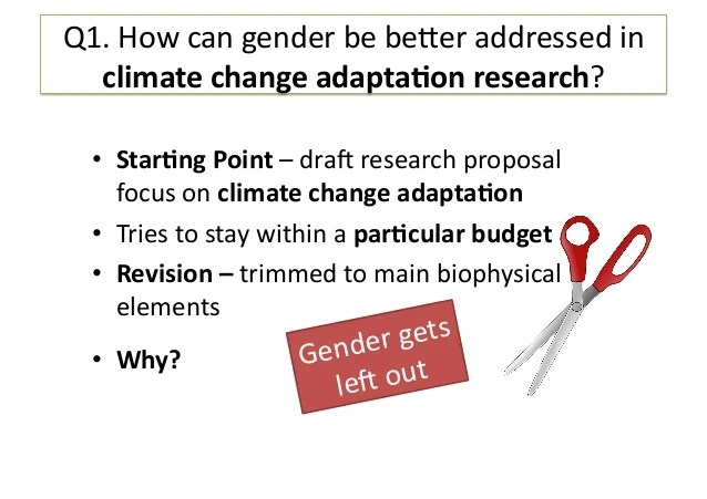 climate change research proposal