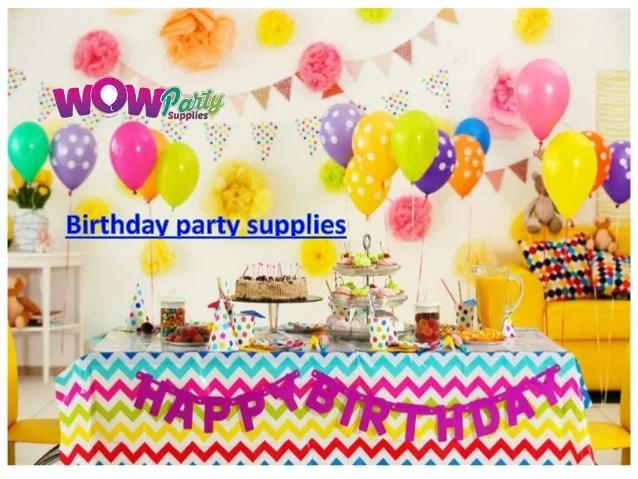 Party Decorations Online Cheap