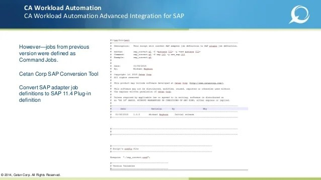 Ca Workload Automation Autosys Jobs