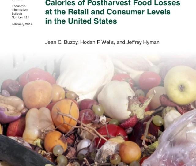 Jean C Buzby Hodan F Wells And Jeffrey Hyman Economic Research Service