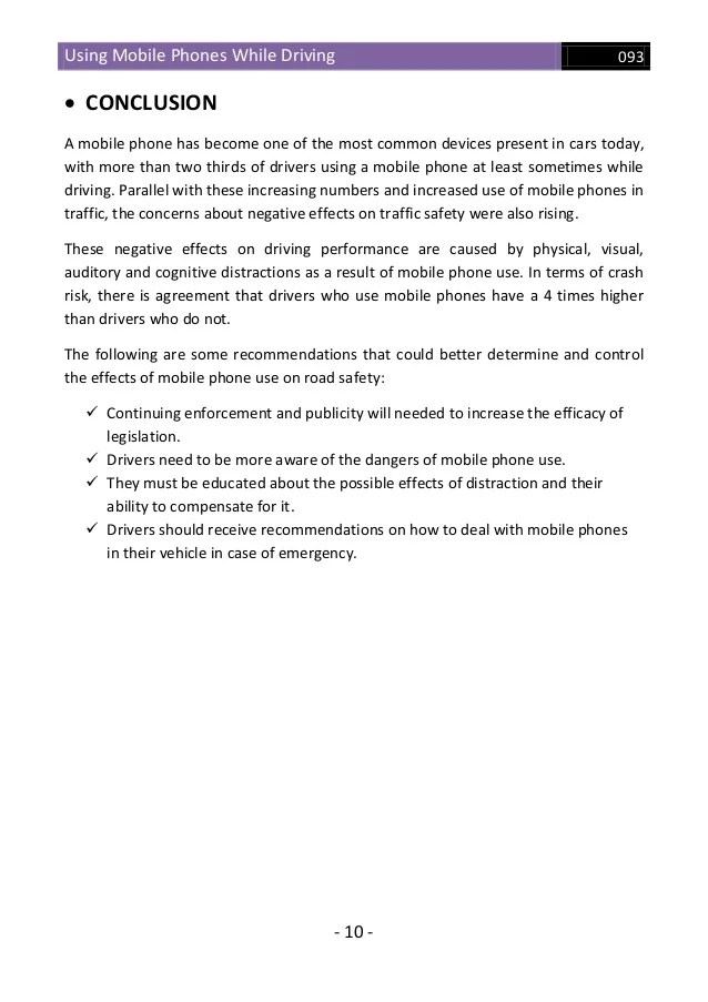 essay about the use of cell phones Essay: car accidents due to cell phones articles february 4, 2012 sample essay a study conducted by kass, cole,.