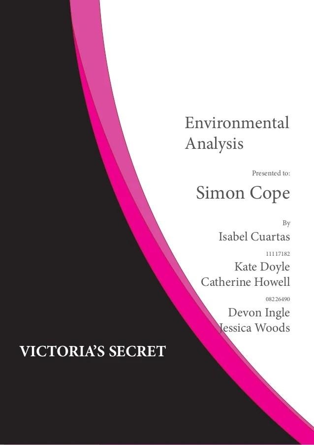 victoria secret marketing plan