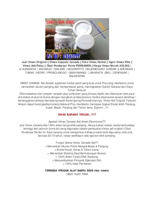 Vimax Pills Obat Pembesar Jual Vimax Original Vimax Capsule Canada Toko Vimax Herbal Agen