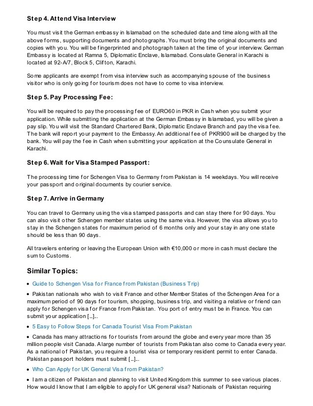 7 steps guide to schengen visa for