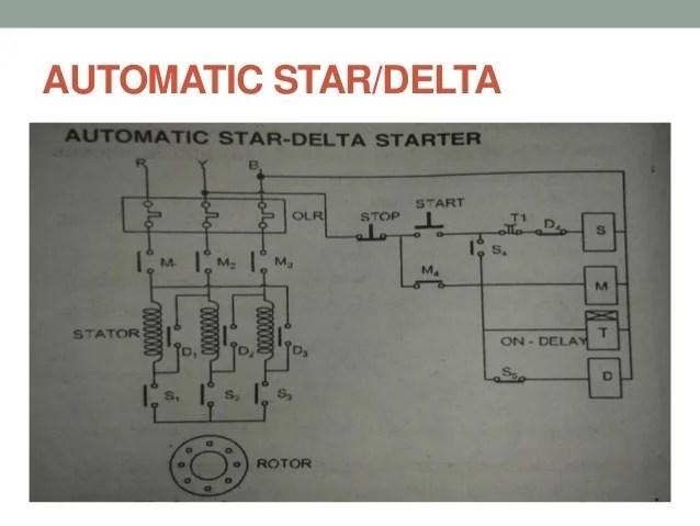 Wiring Diagram For Star Delta Motor Starter  impremedia