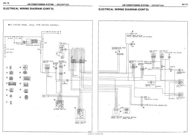 WIRING DIAGRAM TOYOTA AVANZA  Auto Electrical Wiring Diagram