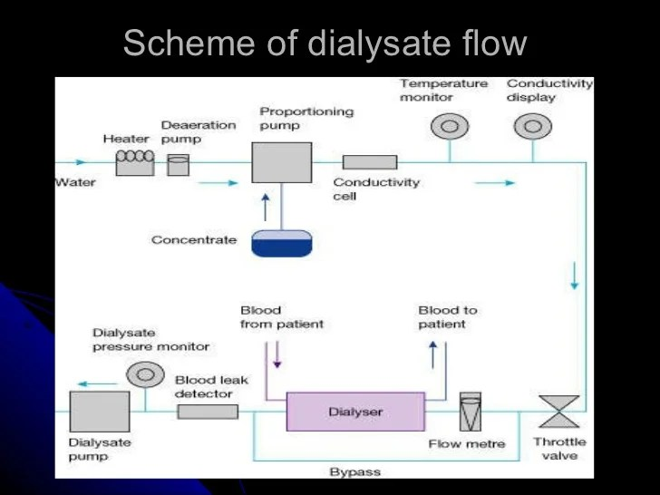 Water treatment and quality control of dialysate
