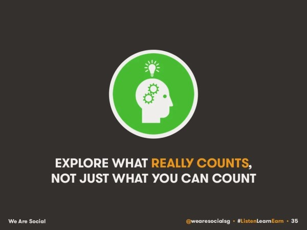 EXPLORE WHAT REALLY COUNTS, NOT
