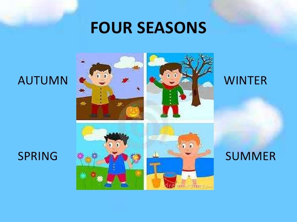 Weather Clothes And Seasons