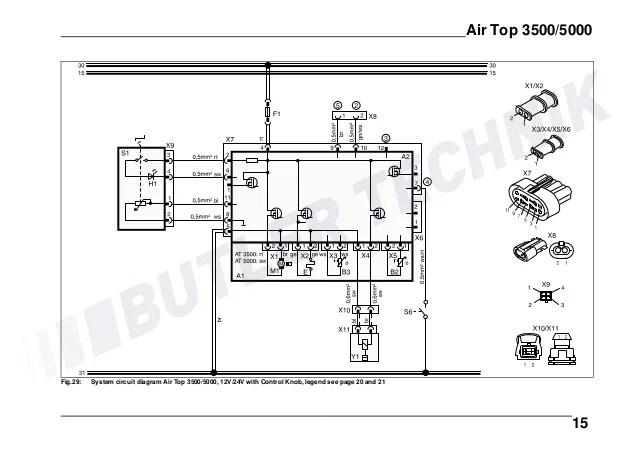 Webasto AIRTOP 35005000 Installation Instructions