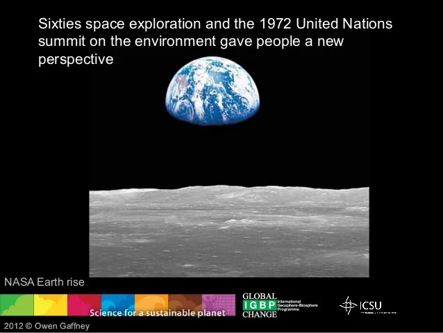 Sixties space exploration and the