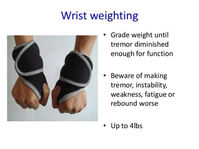 Essential Tremors Hands Wrist Weights