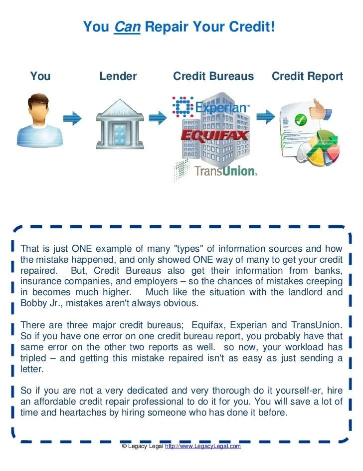 Image Result For Credit Repair Experian