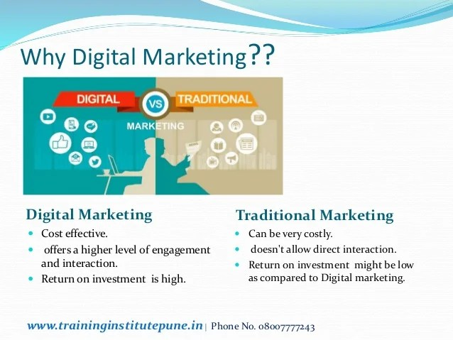 While those things are still essential, a significant part must also include a digital marketing strategy. Digital Marketing Courses Training In Pune With 100% Placement