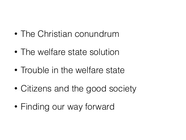 What is the good society?