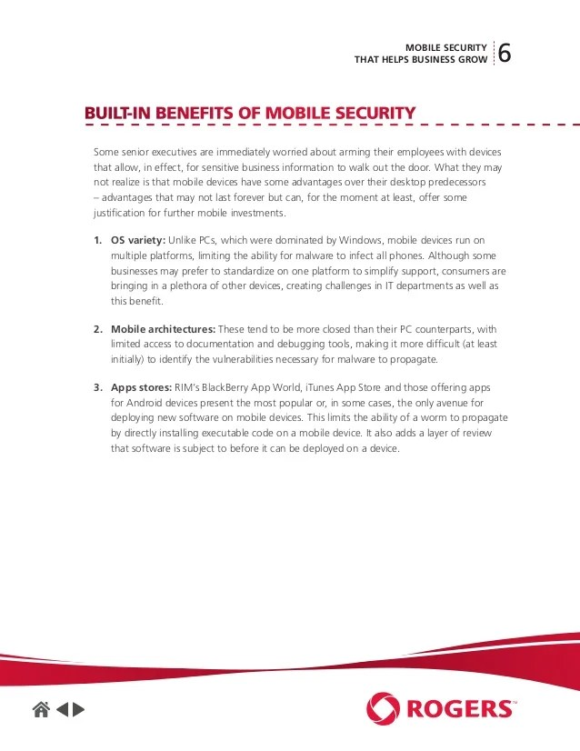 Mobile Security Essay