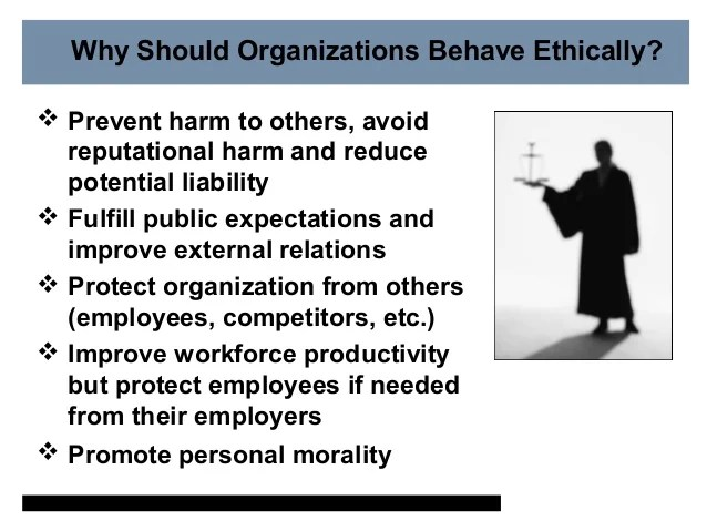 Why is Ethics and Compliance important