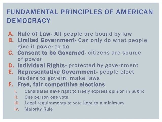 Why study civics