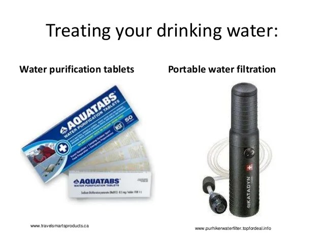 Portable Water Purification Systems Survival