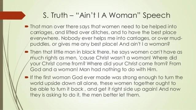 Text Aint Woman I
