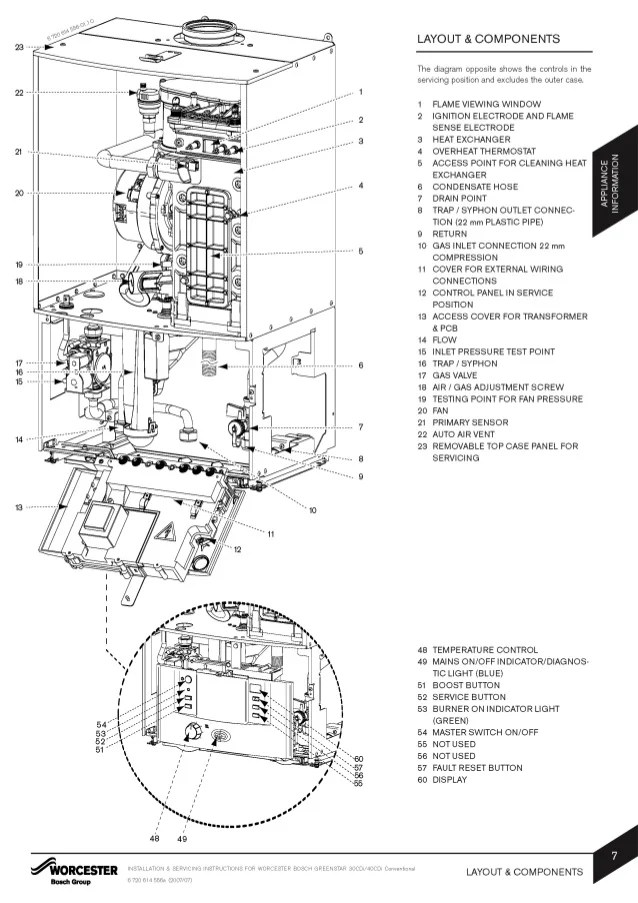 Worcester Boiler Wiring Diagrams Somurichcom