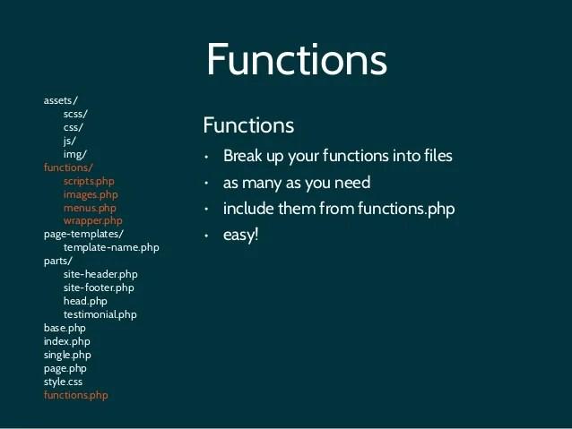 WordPress Theme Structure