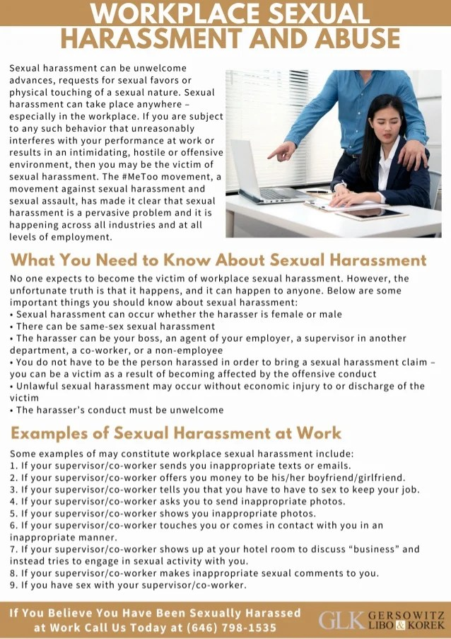 workplace sexual harassment lawyer