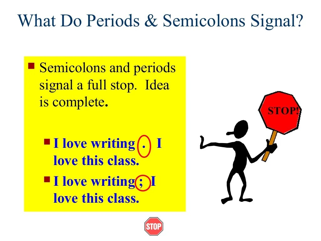 Writing I Week 5 2 Run On And Comma Splice1