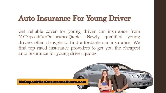 Cheap Car Insurance For Young Drivers Cheap Car Insurance Apt