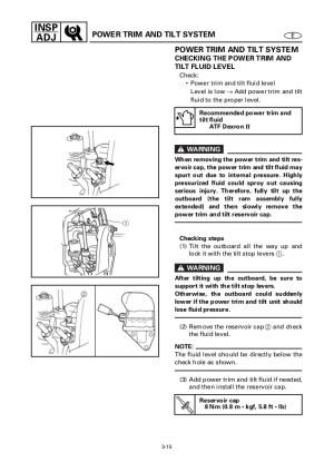 Yamaha Trim Gauge Wiring Diagram  Somurich