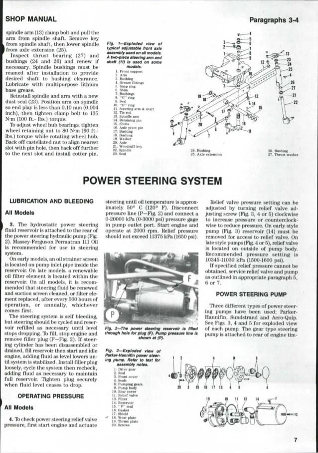 Massey Ferguson MF265 TRACTOR Service Repair Manual