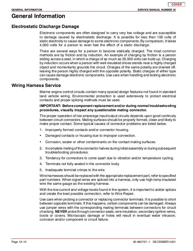 MERCURY MERCRUISER 496 MAG HO DIAGNOSTICS Service Repair Manual SN:0M…