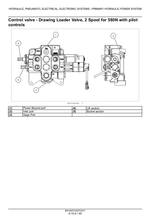 CASE 580SN TRACTOR LOADER BACKHOE Service Repair Manual