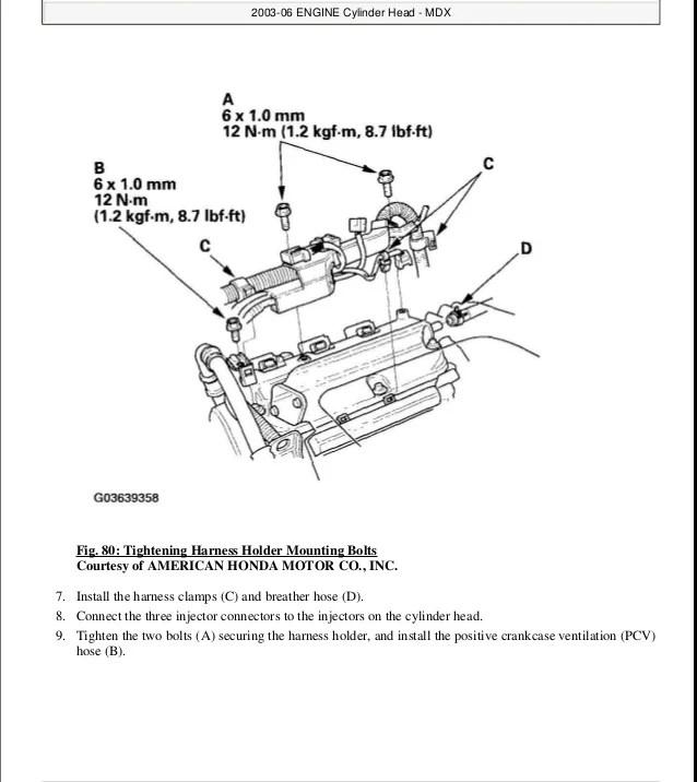 2005 Acura Mdx Parts Manual