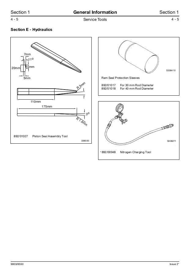 JCB 1CX MANUAL  Auto Electrical Wiring Diagram