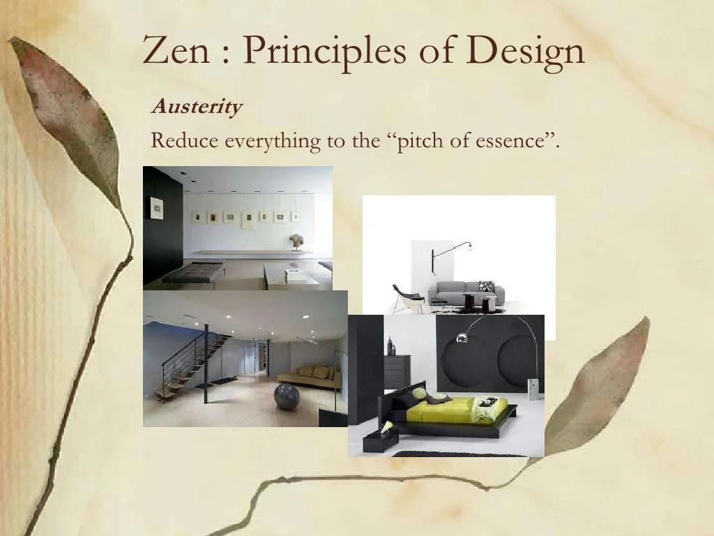 Zen Principles Of DesignAusterityReduce