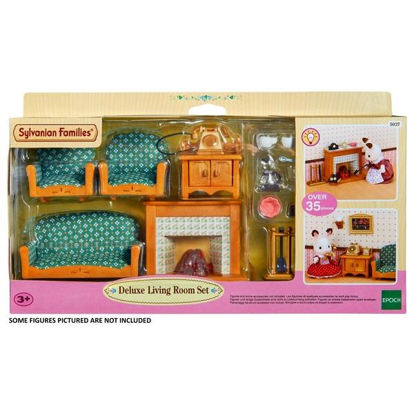Sylvanian Families Deluxe Living Room Set Uk