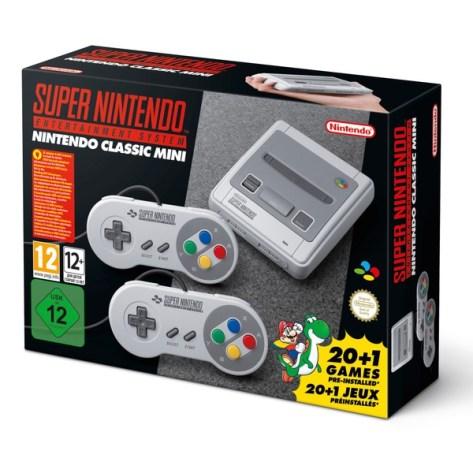 Bildergebnis für Nintendo Classic Mini Super Nintendo Entertainment System