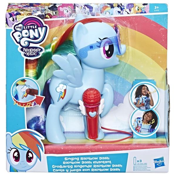 My Little Pony Singing Rainbow Dash Smyths Toys Uk