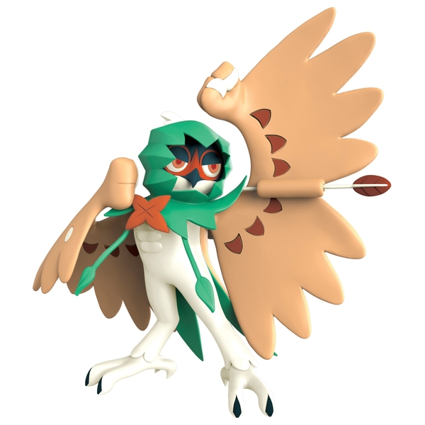 Pokmon 11cm Decidueye Battle Figure Pokemon Toys UK