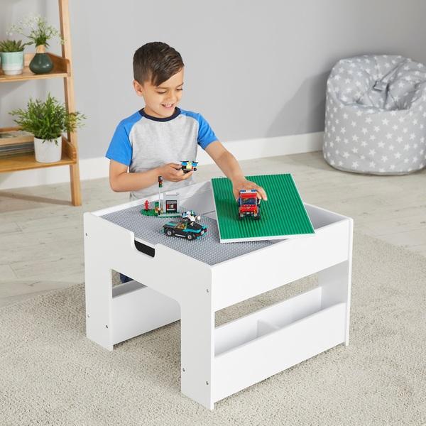 build n store wooden storage brick table smyths toys uk