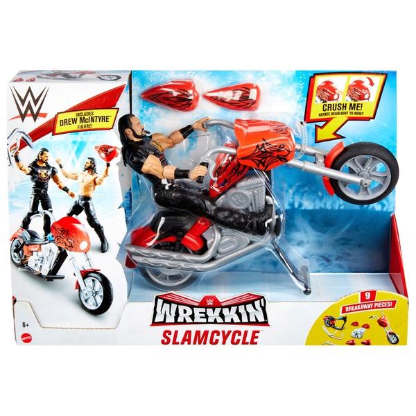Wwe Wrekkin Slamcycle Vehicle With Drew Mcintyre Action Figure Smyths Toys Ireland