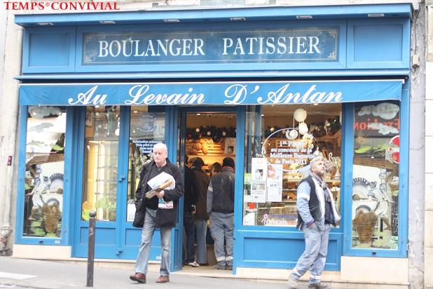パリの有名パン屋