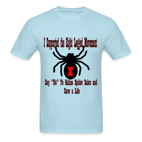 Support the Eight Legged Movement (Mens) ~ 351