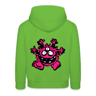 Kinder Kapuzenpullover - Pullover & Hoodies Friendly Cartoon Monster by Cheerful Madness!! Hoodies