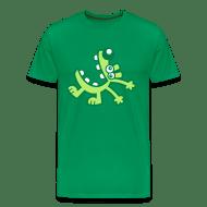 Koszulka męska premium - Koszulki Śmiejący się rysunkowy pies od Cheerful Madness!! Koszulki