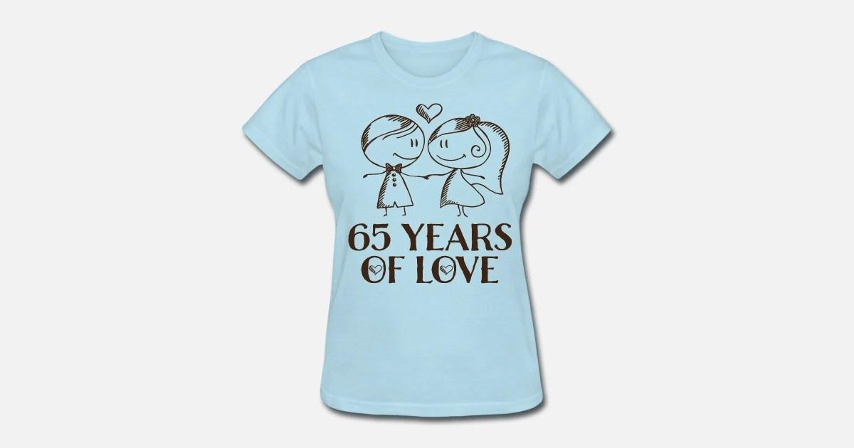 65th Wedding Anniversary Gift Women's T-Shirt