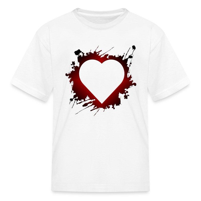 Heart Grunge Love Romance Valentines T Shirt